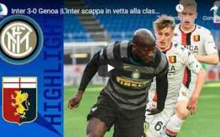 Serie A: milano inter genoa video calcio sport