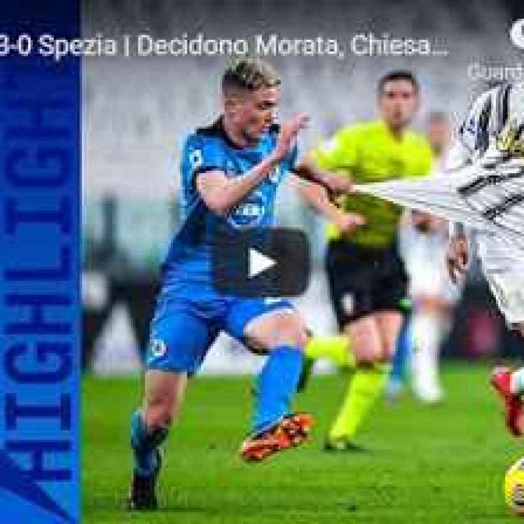 torino juventus spezia video calcio