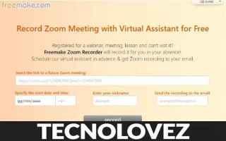 zoom registrare videochiamate zoom