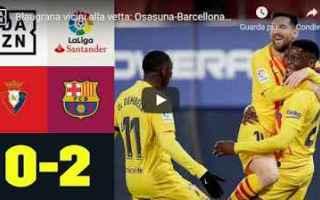 Calcio Estero: pamplona spagna video barcellona calcio