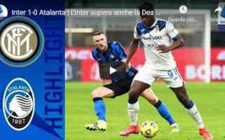 Serie A: milano inter atalanta video calcio sport