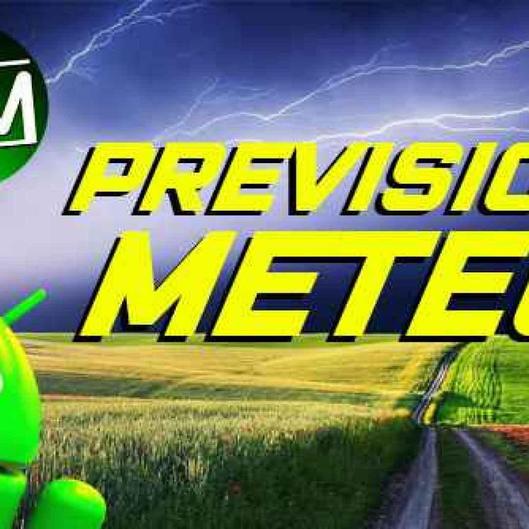 previsioni meteo temperatura android app
