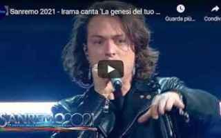 Musica: sanremo video irama musica italia