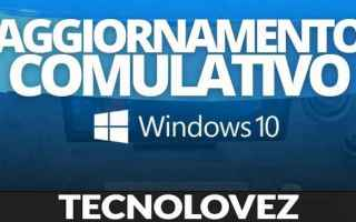 Computer: windows 10 kb5000802 aggiornamento