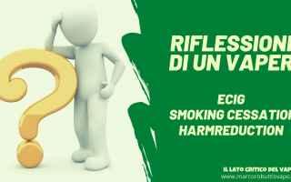 Salute: sigaretta elettronica  vaping  svapo