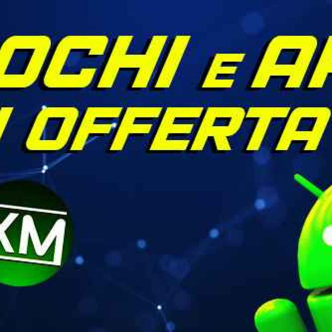 android play store giochi app sconti