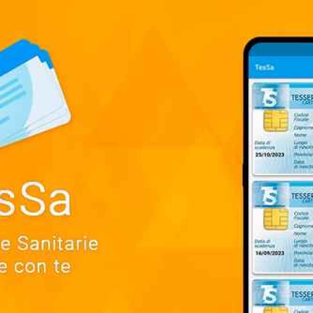 tessera sanitaria android sanità apps