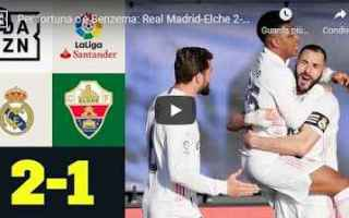 real madrid calcio video liga spagna