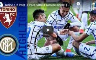 Serie A: torino inter video calcio sport