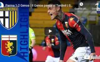 parma genoa video calcio sport
