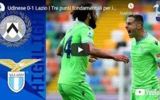 Serie A: udine udinese lazio video calcio sport
