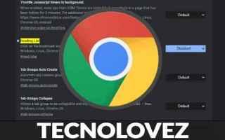 Internet: elenco di lettura  google chrome