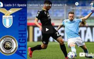 roma lazio spezia video calcio sport