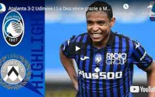 bergamo atalanta udinese video calcio