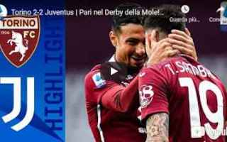 Serie A: torino juventus video calcio sport