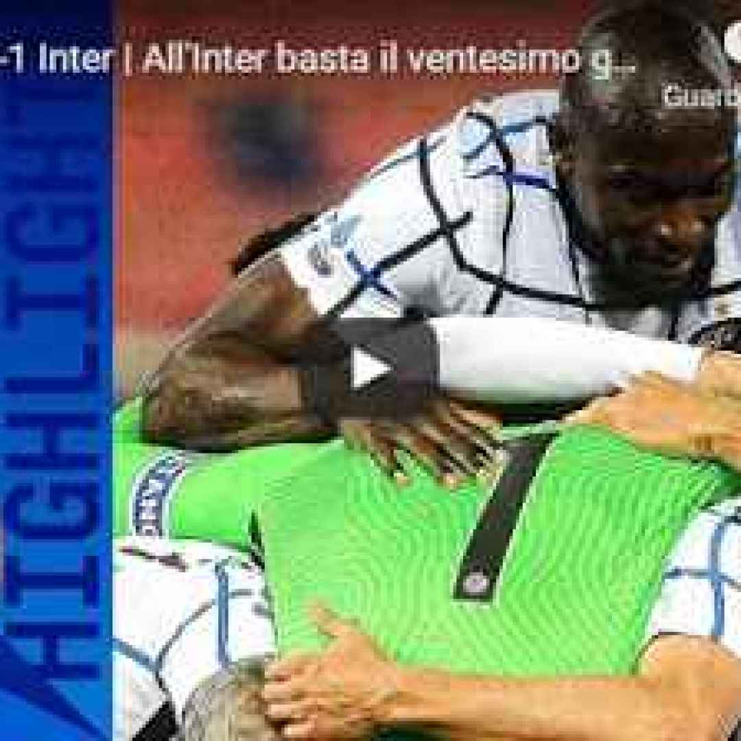 bologna inter video calcio sport