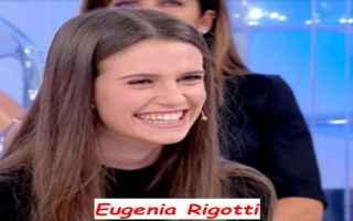 Televisione: Biografia Eugenia Rigotti di Uomini e donne dove corteggia il tronista laziale Massimiliano Mollicone