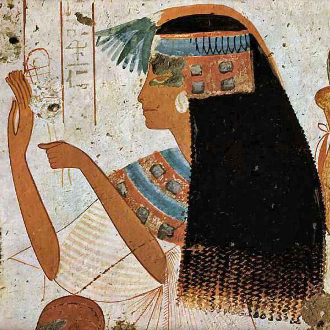 antico egitto  donna egizia  schiava