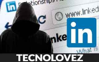 Internet: hackerato linkedin  dark web