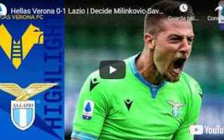 verona lazio video calcio sport