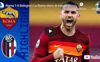 roma bologna video sport calcio