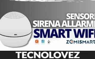 Computer: zemismart sensore sirena allarme smart