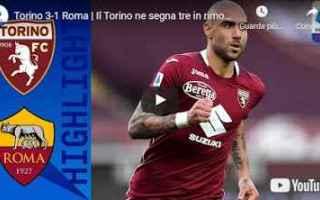 torino roma video sport calcio