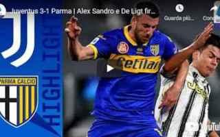 Serie A: torino juventus parma video calcio sport