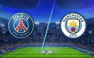 Champions League: manchester city  psg