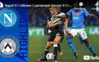 Serie A: napoli udinese video calcio sport