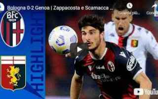 bologna genoa video calcio sport