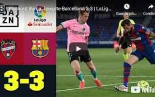 barcellona video calcio sport spagna