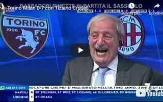 milan video tiziano crudeli calcio tv