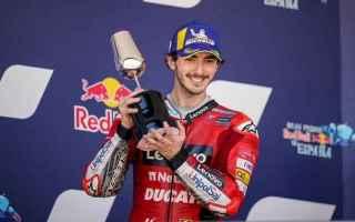 Bagnaia dopo aver conquistato a Jerez la leadership della classifica piloti vuole vincere a Le Mans