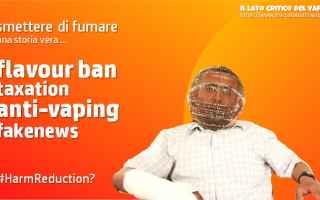 smettere di fumare  svapo  salute