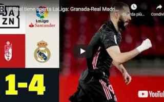 real madrid calcio video liga spagna