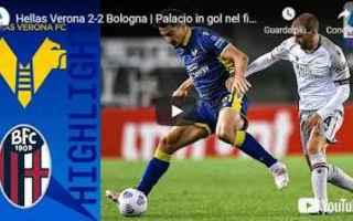 verona bologna video calcio sport