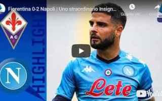 Serie A: firenze fiorentina napoli video calcio