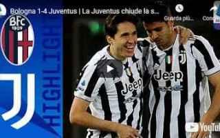 Serie A: bologna juventus video calcio sport