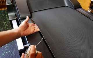Sport: tapis roulant  manutenzione  lubrificare