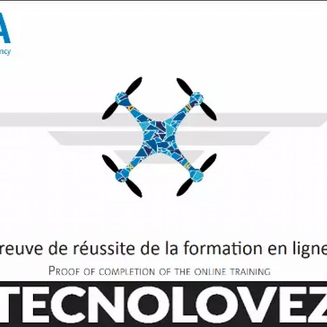patentino drone  attestato a1/a3 gratis