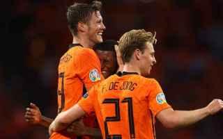 Calcio: olanda  ucraina
