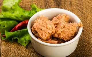Alimentazione: tonno  tonno in scatola  dieta
