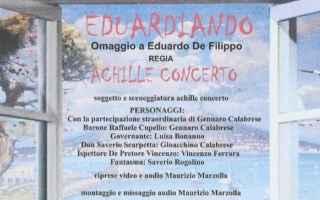 """Spettacoli: """"Eduardiando"""" di Achille Concerto vince la sezione """"Cortometraggi"""" del """"Milazzo International Film Festival"""""""