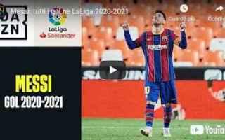 Calcio Estero: spagna barcellona video calcio gol messi