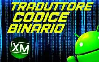 Tecnologie: codice binario chat android app blog