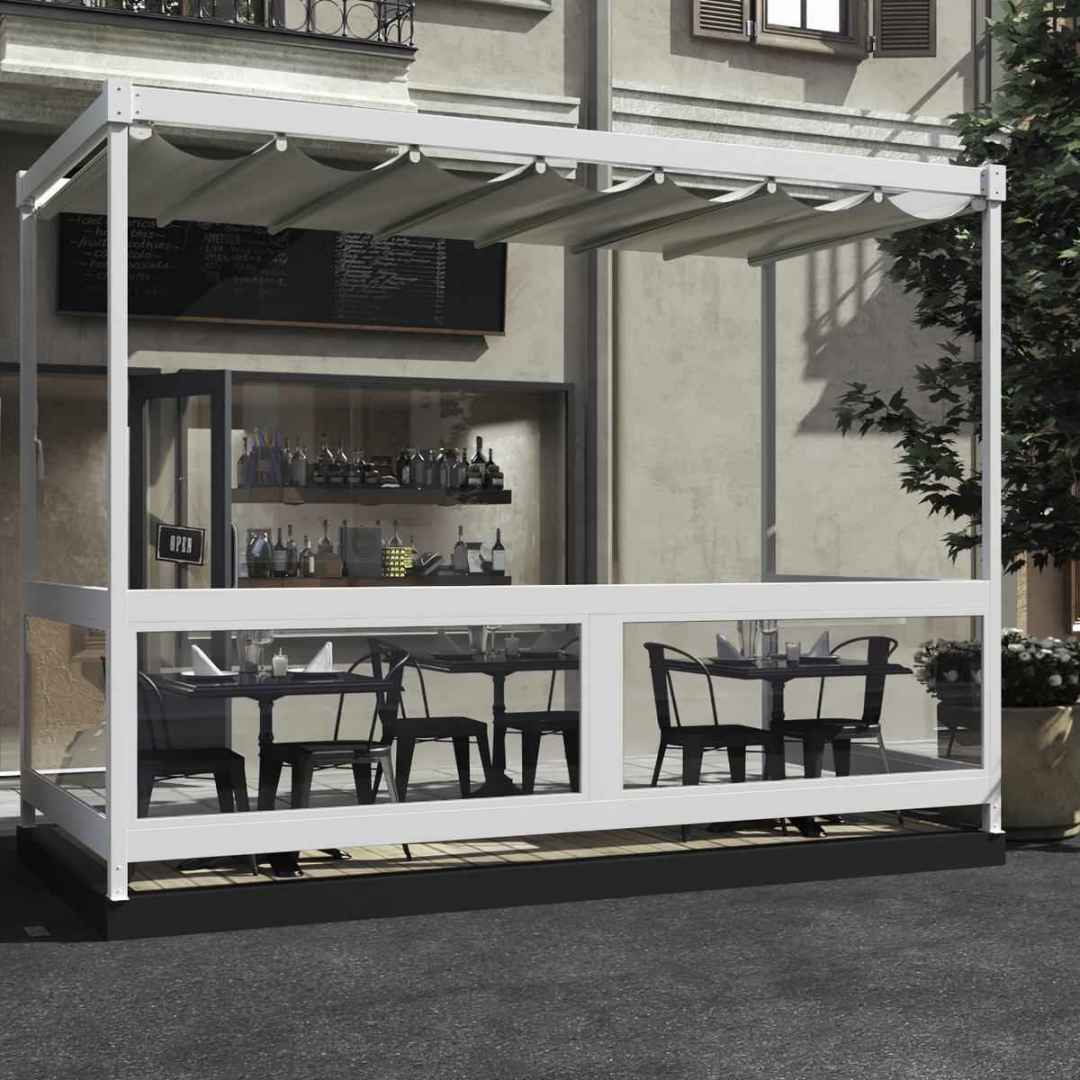outdoor  ristorante  business  pergola