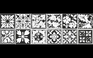 Architettura: piastrelle adesive  piastrelle bagno
