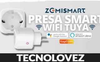 presa smart wifi zemismart domotica