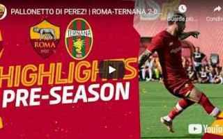 Serie A: trigoria  roma video calcio sport gol
